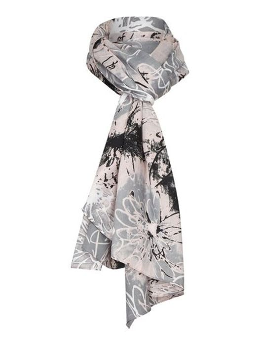 Tigi Abstract Floral Print Scarf Down From £12 to £5
