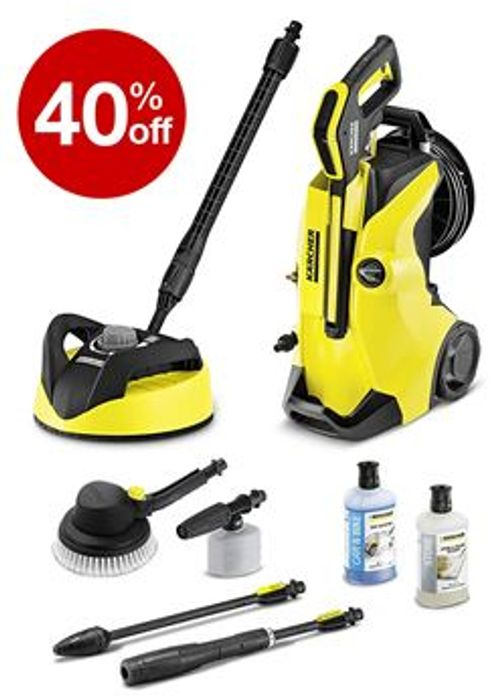 £140 off TODAY! Karcher K4 Premium Full Control Car and Home Pressure Washer