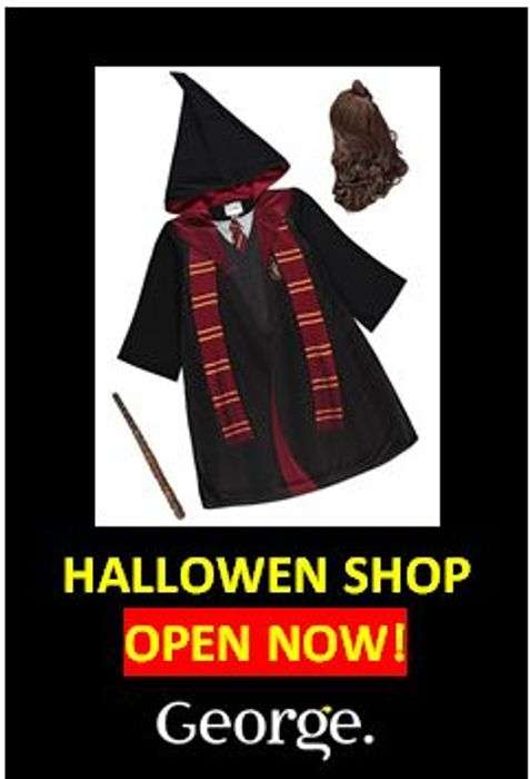 ASDA George Halloween Shop Now up to 50% Off!