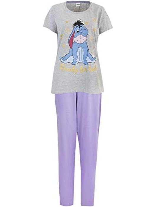 Disney Womens Eeyore Pyjamas