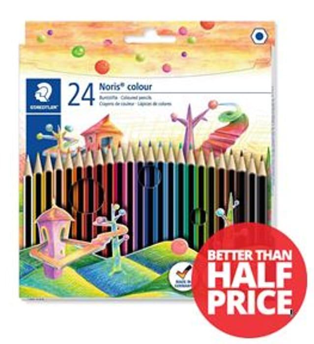 24 Staedtler Noris Colouring Pencils **4.5 STARS**