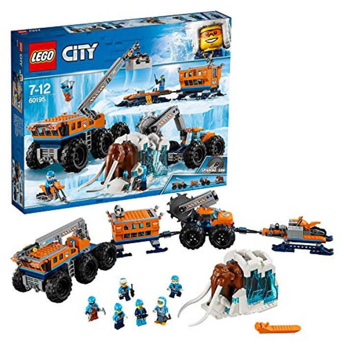 Best Ever Price! LEGO 60195 City Arctic Expedition Mobile Exploration Base