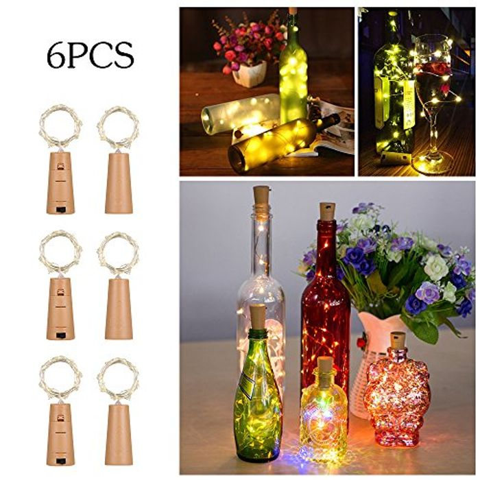 50% off 6 Pack of Pretty Bottle Lights