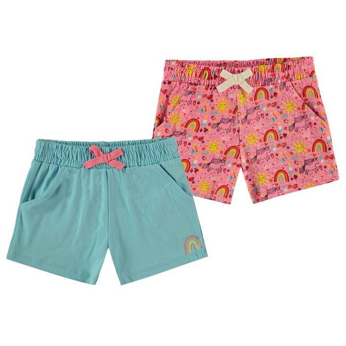 Crafted Essentials 2 Pk Shorts (12-18 Months)