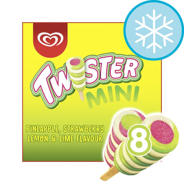 Twister Mini Ice Cream Lolly 8 X 50Ml