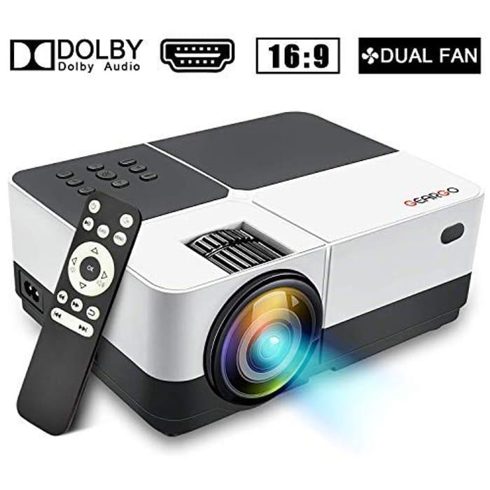 Full HD 1080P 2800 Lumen Mini Projector - £20.99 from Amazon!