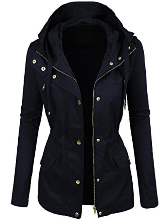 Prime Ladies Parka Jacket Women Cotton