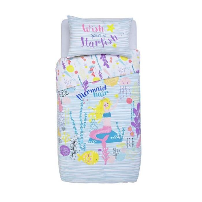 Argos Home Mermaid Bedding Set - Single819/9683