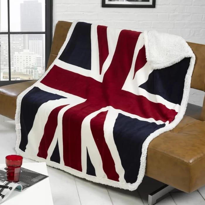 Union Jack Throw/blanket