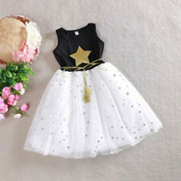 Summer Girl Princess Lace Dress