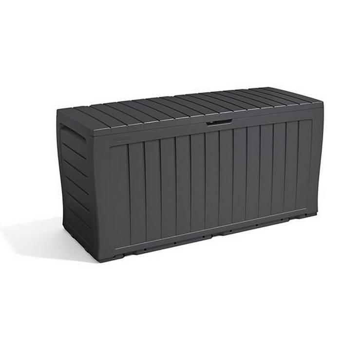 Cheap Keter Marvel plus Garden Storage Box 270L - Grey Only £30