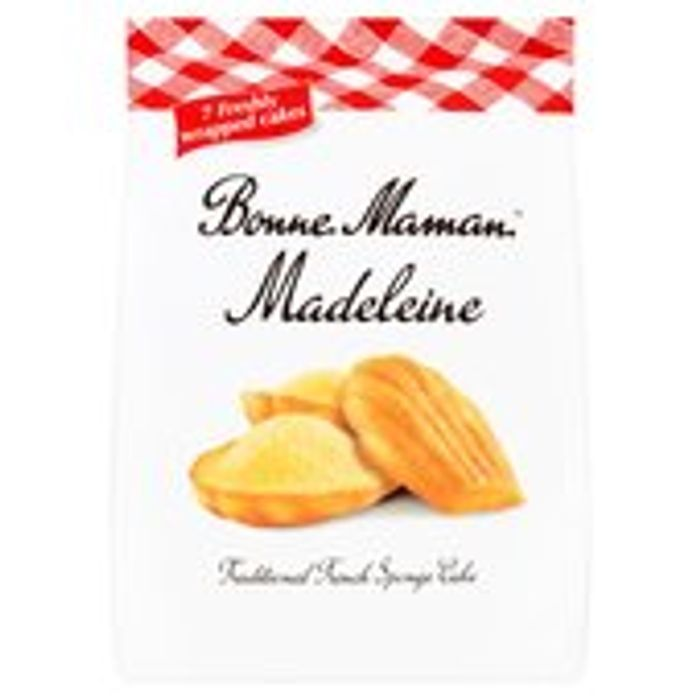 Bonne Maman Madeleine 7 Freshly Wrapped Cakes 175g