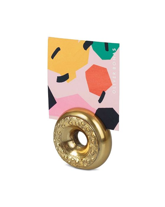 Doughnut Metallic Photo Holder
