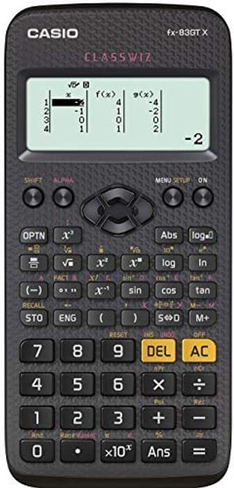 SAVE £5 - CASIO Fx-83GTX - The UK's Best-Selling Scientific Calculator.