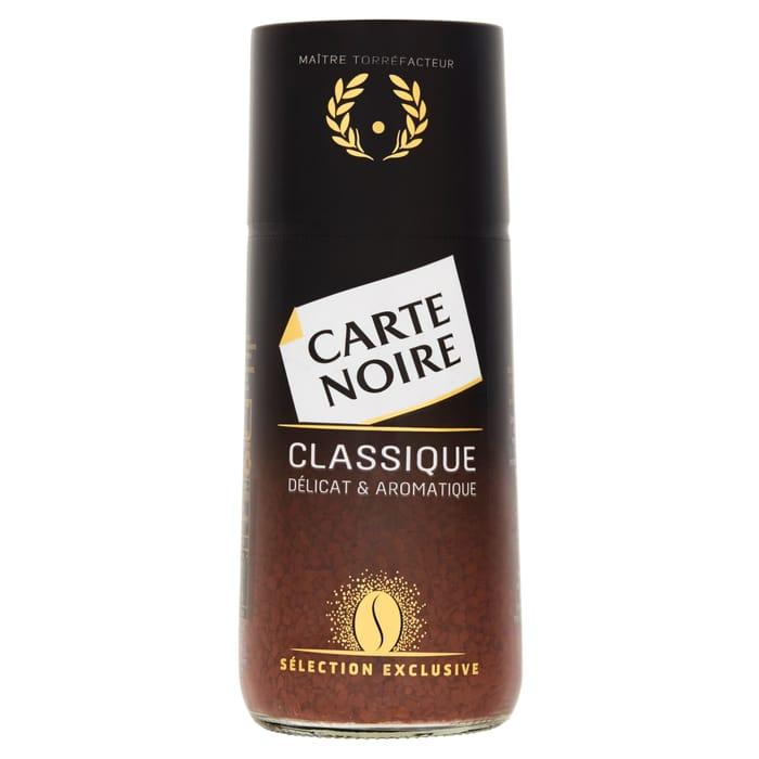 Carte Noir Instant Classique 100G - Half Price