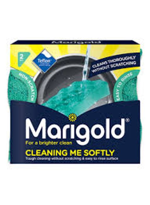 Marigold Cleaning Me Softly Scourer 2 pack, reduced by £0.4!