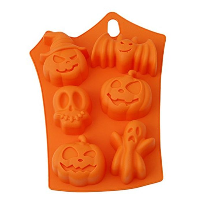 Best Price Chocolate Mould Halloween Motif DIY Fondant Candy Mould Cake Decor