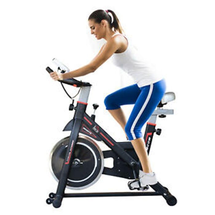 Exercise Bike Racing Bicycle LCD Display