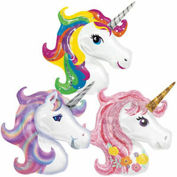 Large Unicorn Foil Balloon at Ebay Only £3.49