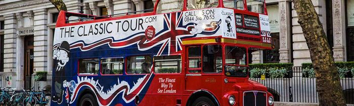 London Open Top Sightseeing Tour - for the Whole Family, up to 38% Off