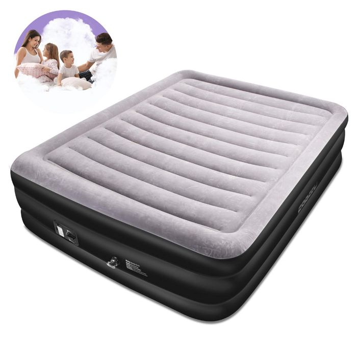 Deal Stack - Electric Pump Air Bed - 30% off + Extra 10%