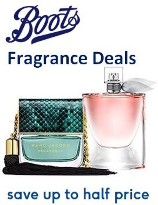 20 HALF PRICE FRAGRANCE DEALS at Boots