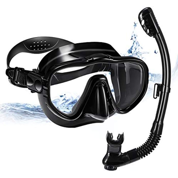 47% off Anti-Fog Snorkel Set