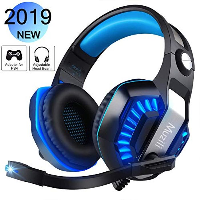 Half Price-Gaming Headsets with Mic 7.1 Surround Sound Noise