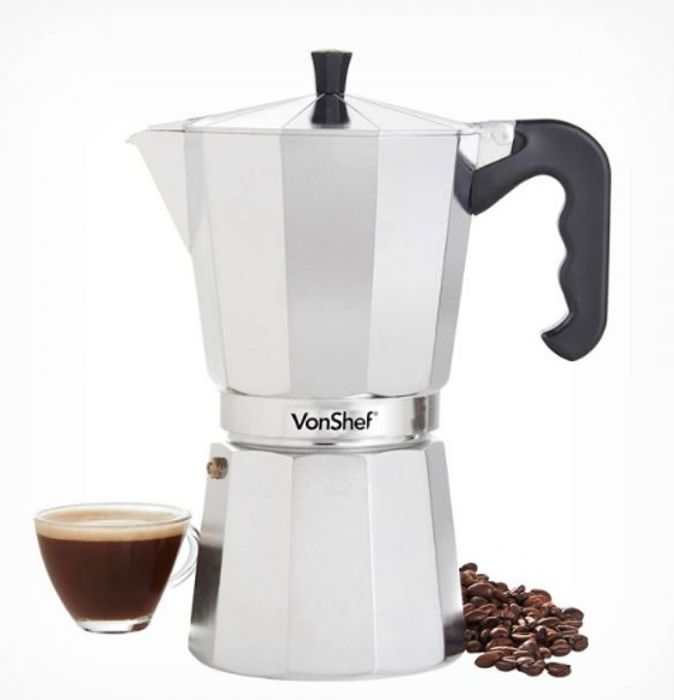 12 Cup Espresso Maker Only £11.99