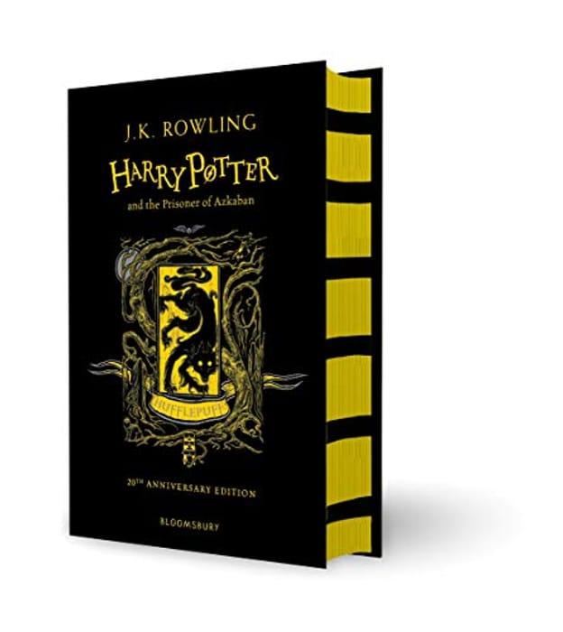 J.K. Rowling Harry Potter and the Prisoner of Azkaban Hufflepuff Edition