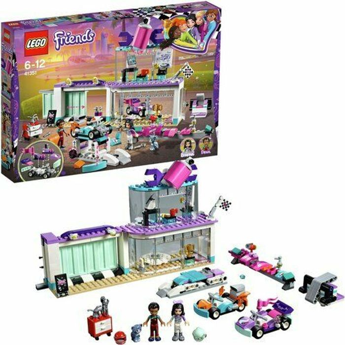 LEGO Friends Heartlake Creative Tuning Shop Playset - 41351 Only £17.99