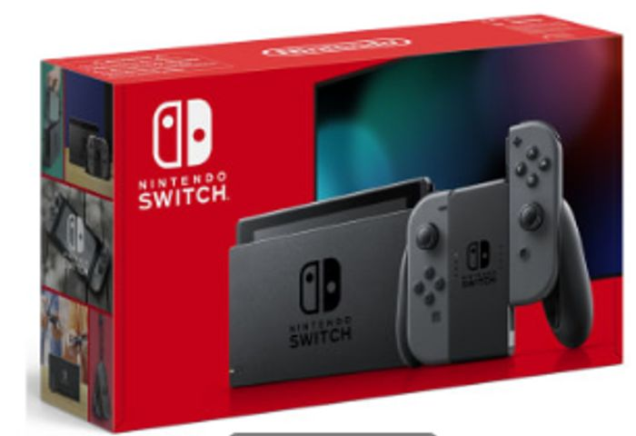 NINTENDO SWITCH - GREY (IMPROVED BATTERY) Only £279.99