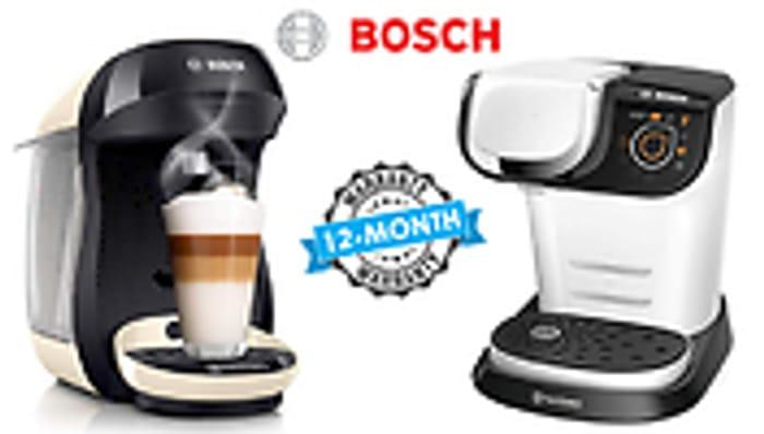 Bosch Tassimo Coffee Machines - 4 Models Suny £24.99 Happy £24.99 Vivy2 £26.99