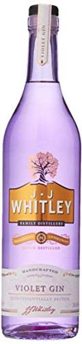 Save 30% - JJ Whitley Violet Gin or Rhubarb Vodka 700ml Bottle £14