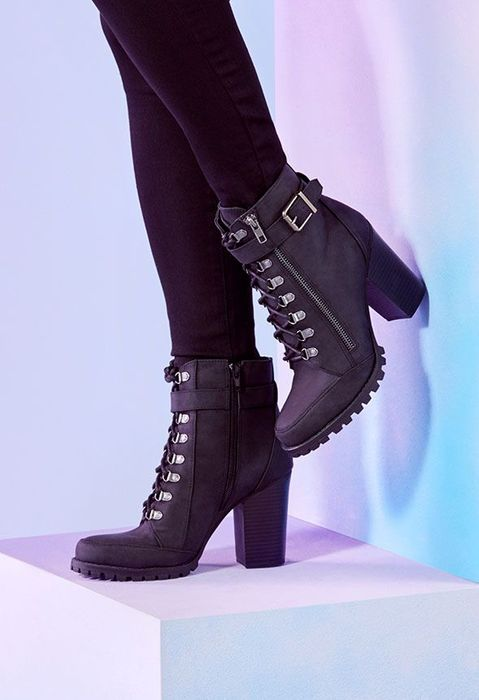 Pracida Lace-up Ankle Boot at Justfab