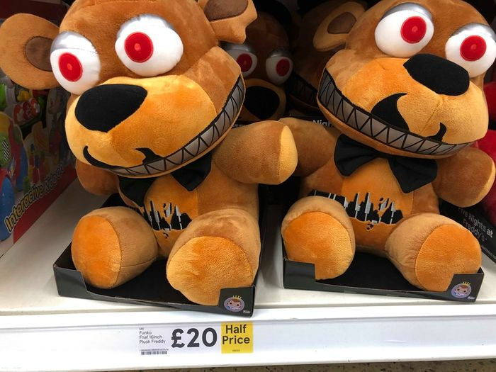 ** Half Price ** Five Nights at Freddys Massive Teddys