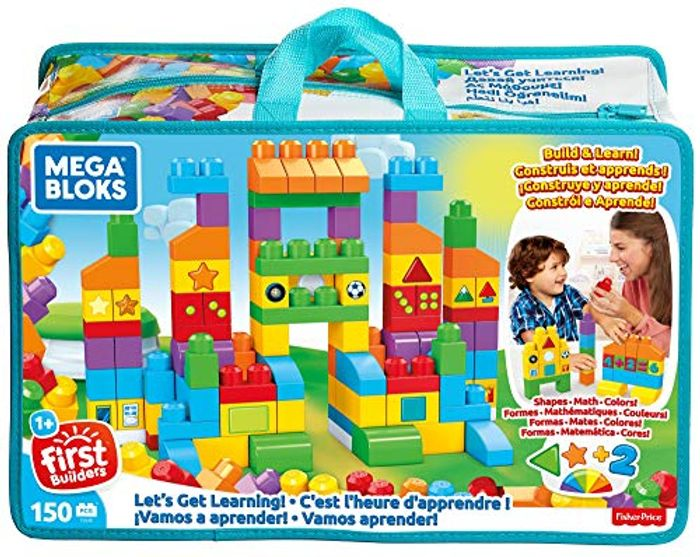 MEGA BLOKS Let's Get Learning - 150 Bricks