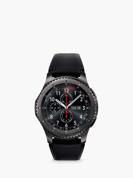 *SAVE £90* Samsung Gear S3 Frontier Smartwatch & Duo, Qi Wireless Charging Pad