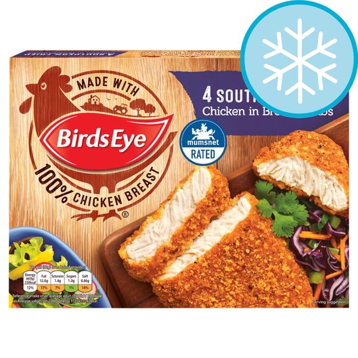 Birds Eye 4 Southern Fried Chicken 360G