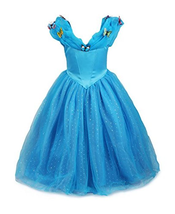 Princess Cinderella Fancy Dress at Amazon Only £18.99