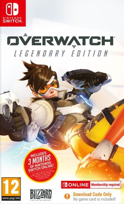Nintendo Switch Overwatch L.E. + 3 Month Membership (Digital) £23.85 at Shopto