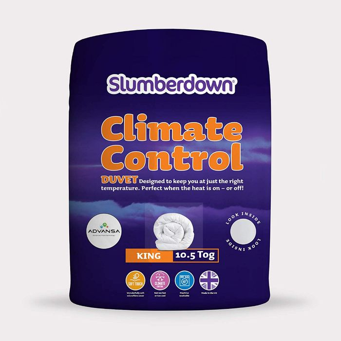 ALMOST 1/2 PRICE! Slumberdown Climate Control Duvet 10.5 Tog, KING SIZE