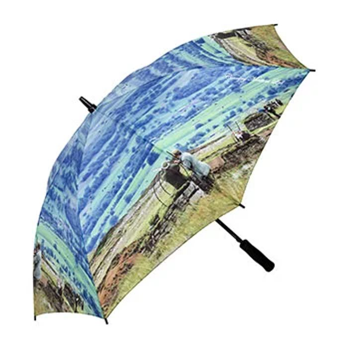 The Works Large Grouse Print Umbrella