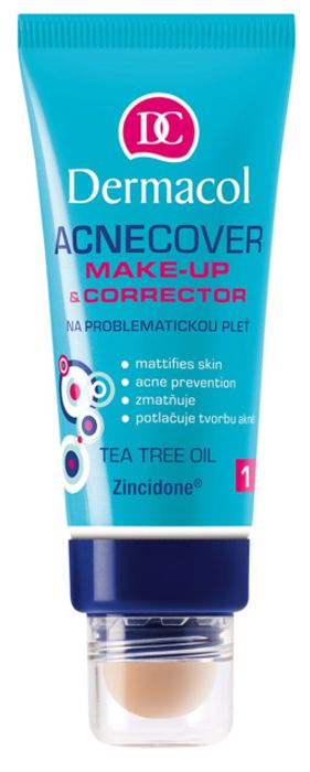 Best Price Dermacol Acne Cover Make Up & Corrector 30ml Only £2.99