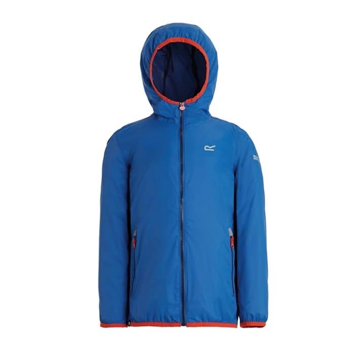 Regatta - Blue 'Lever' Kids Waterproof Jacket Now £12