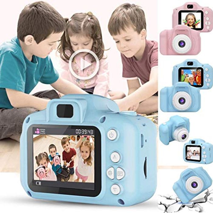 Childrens Mini Digital Camera with 2 Inch Screen Video Recorder