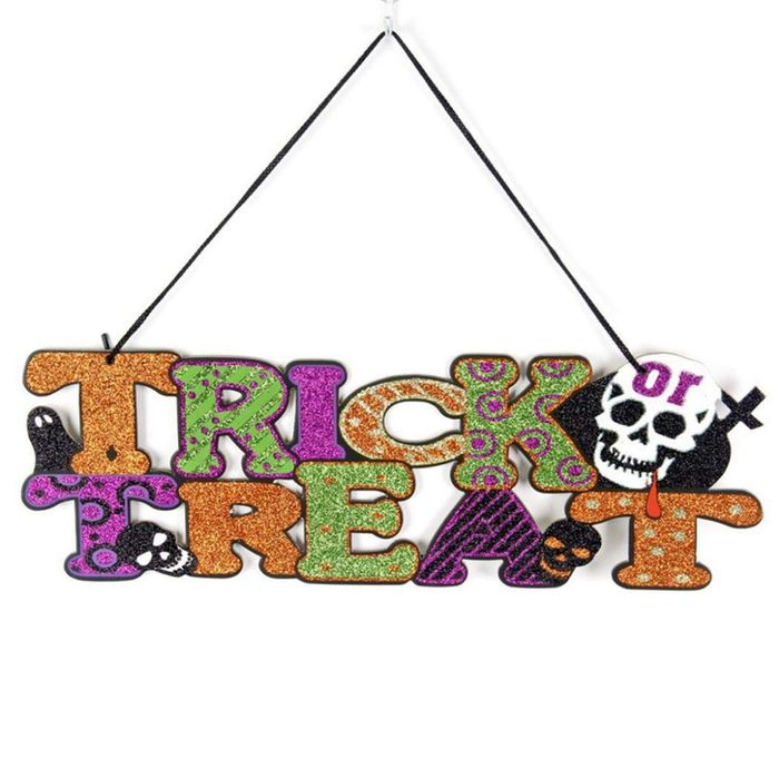 Halloween Hanging Sign Decoration Only £3.9