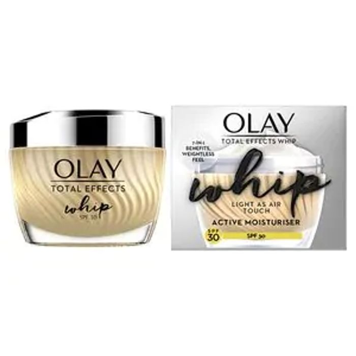 Olay Total Effects Whip SPF 30 50ml Only £8.75