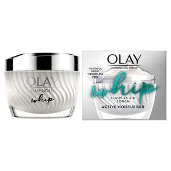 Olay Luminous Whip 50ml Down From £34.99 to £8.75