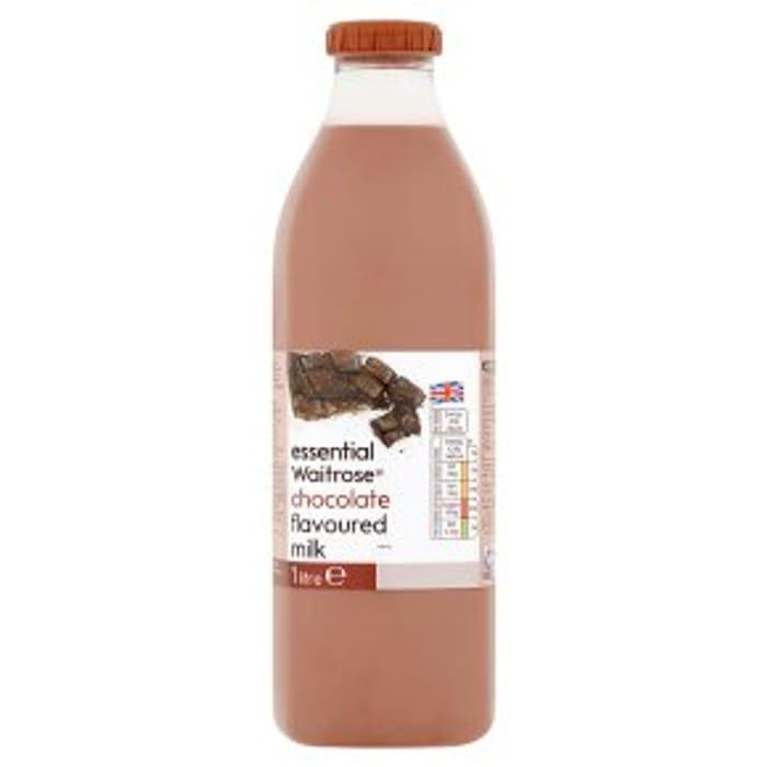 Essential Waitrose Chocolate Flavoured Milk1litre